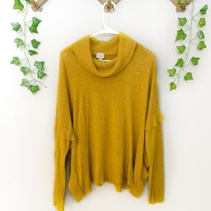 Anthropologie Postmark Brand Turtleneck Sweater